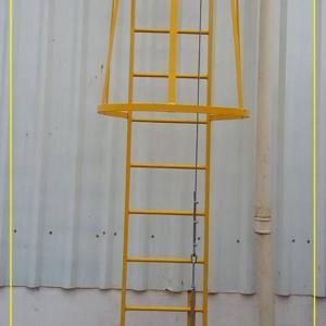 Linha de vida vertical com cabo de aço